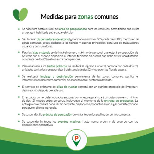 MEDIDAS ZONAS COMUNES